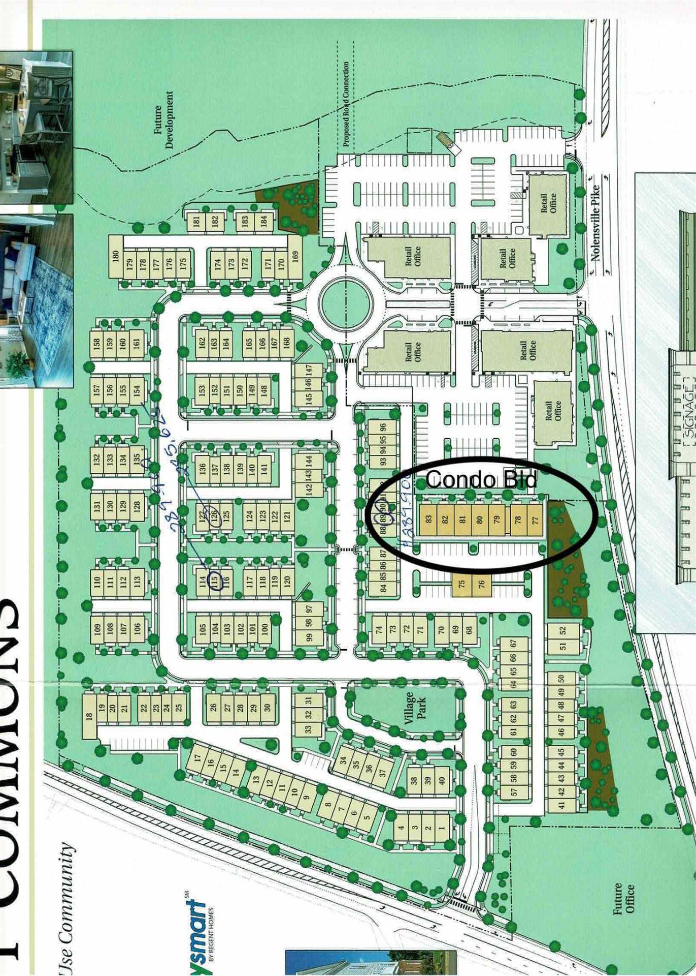 162 Burkitt Commons Ave #28, Nolensville, TN 37135 - MLS#: 2230859