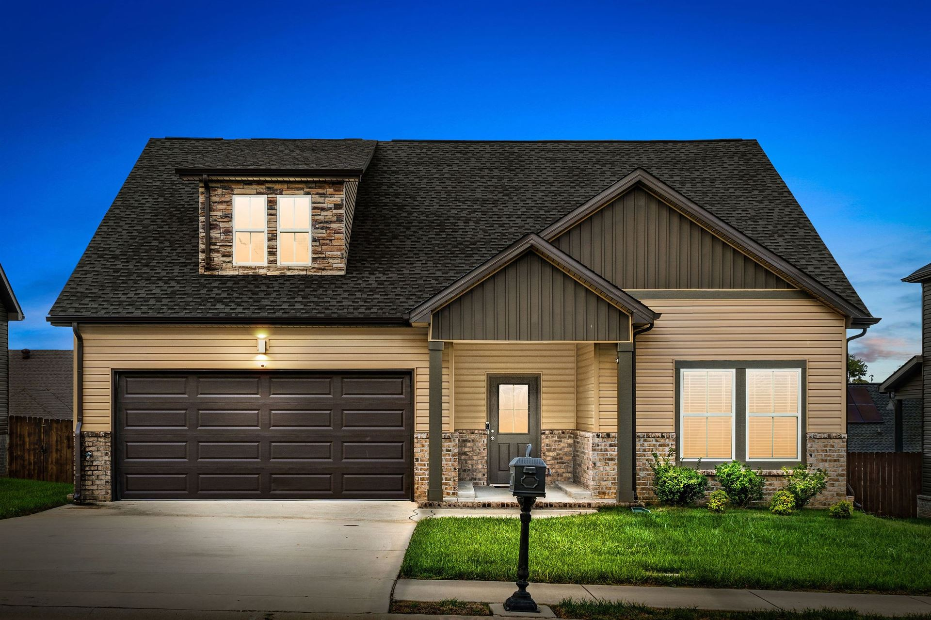 1339 Golden Eagle Way, Clarksville, TN 37040 - MLS#: 2297876