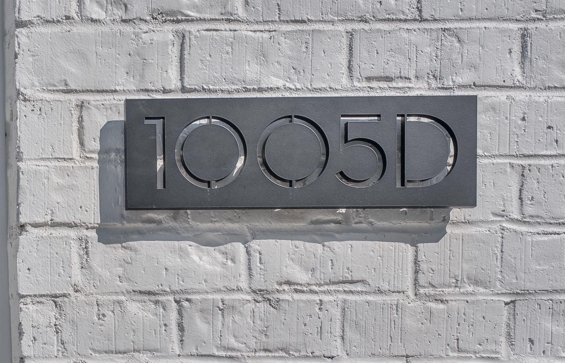 1005 12th Ave S #D, Nashville, TN 37203 - MLS#: 2207891
