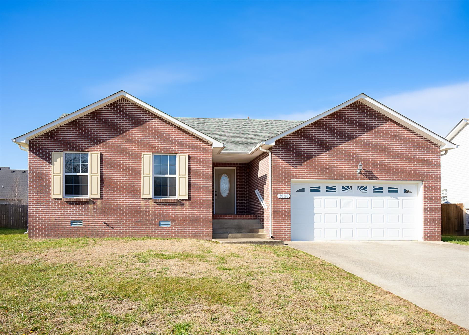 3120 Twelve Oaks Blvd, Clarksville, TN 37042 - MLS#: 2212899