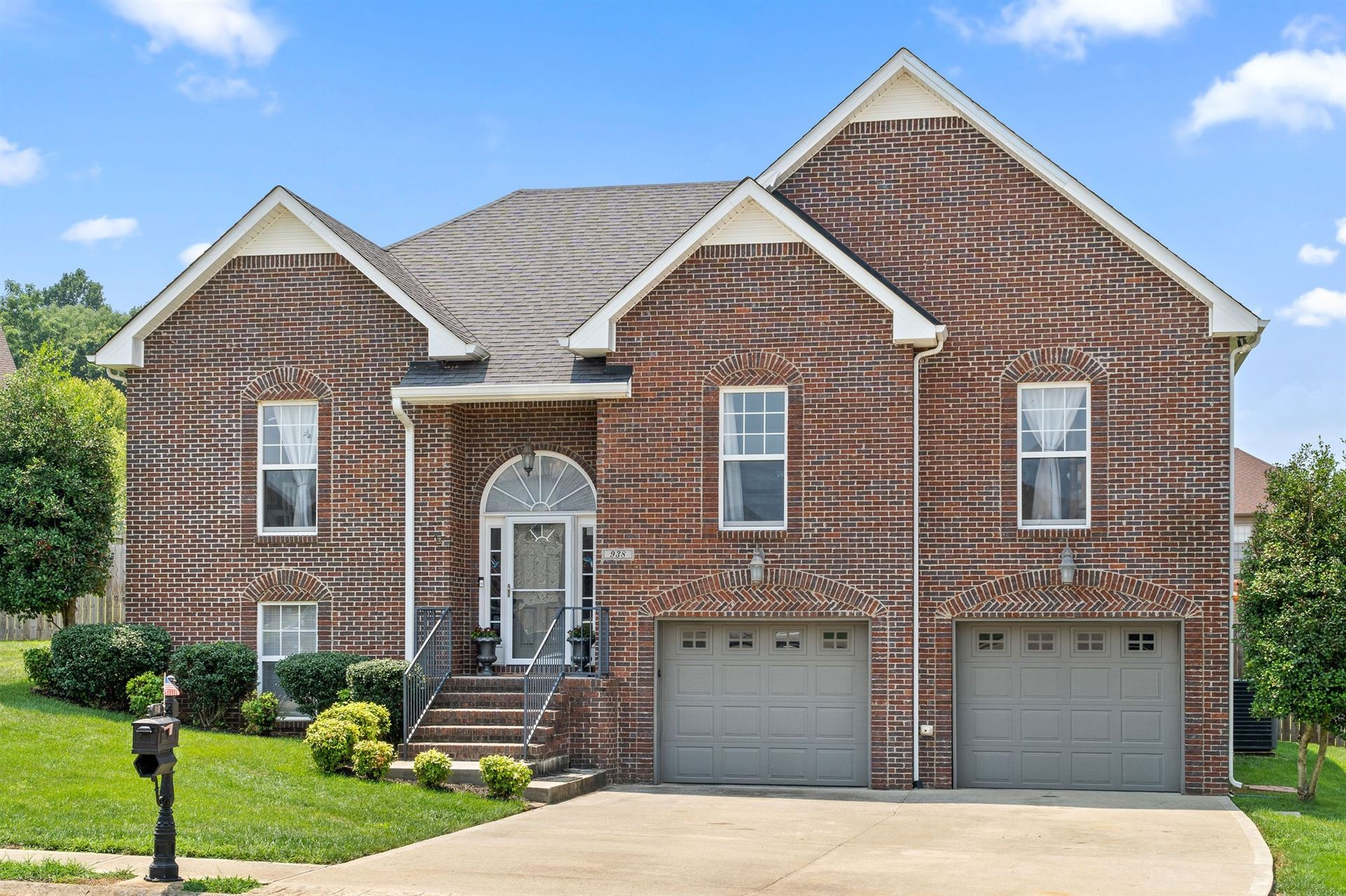 938 Spring Terrace Ct, Clarksville, TN 37040 - MLS#: 2274909
