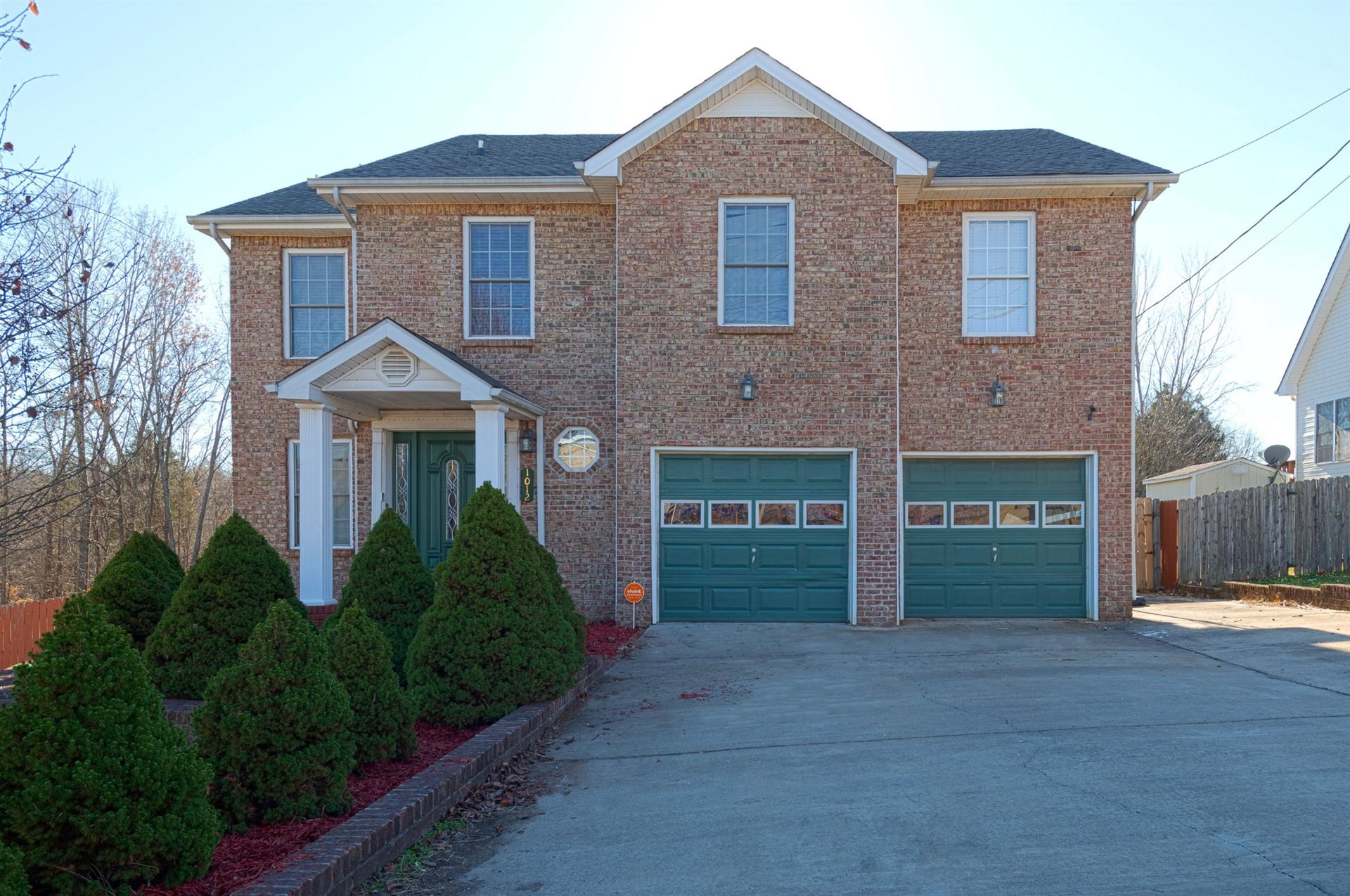 1012 Garfield Way, Clarksville, TN 37042 - MLS#: 2212950