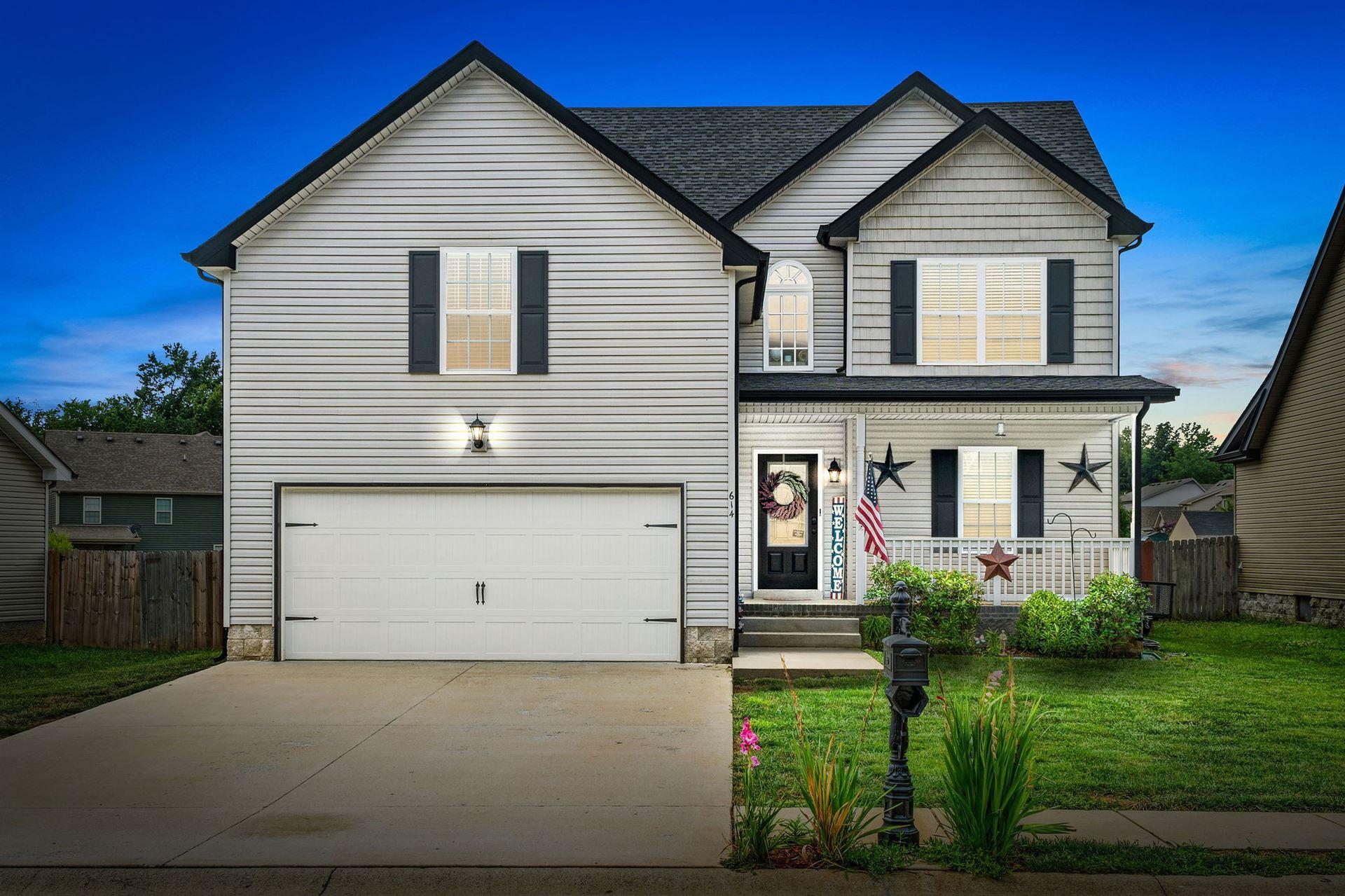 614 Fox Path Ln, Clarksville, TN 37040 - MLS#: 2278966