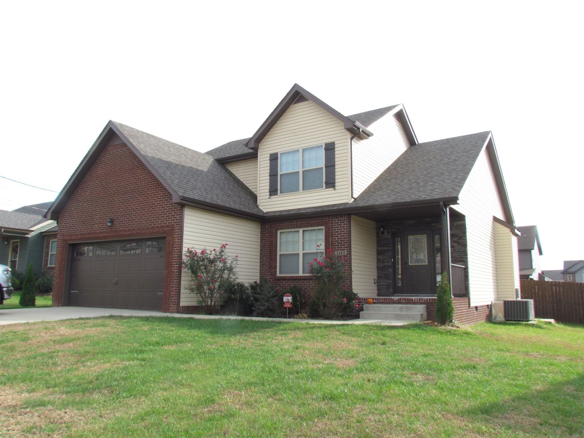 3452 Bradfield Dr, Clarksville, TN 37042 - MLS#: 2201974