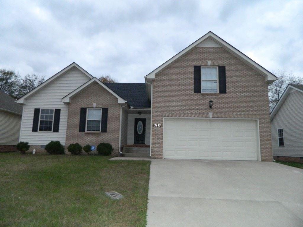 2645 Cider Drive, Clarksville, TN 37040 - MLS#: 2250989
