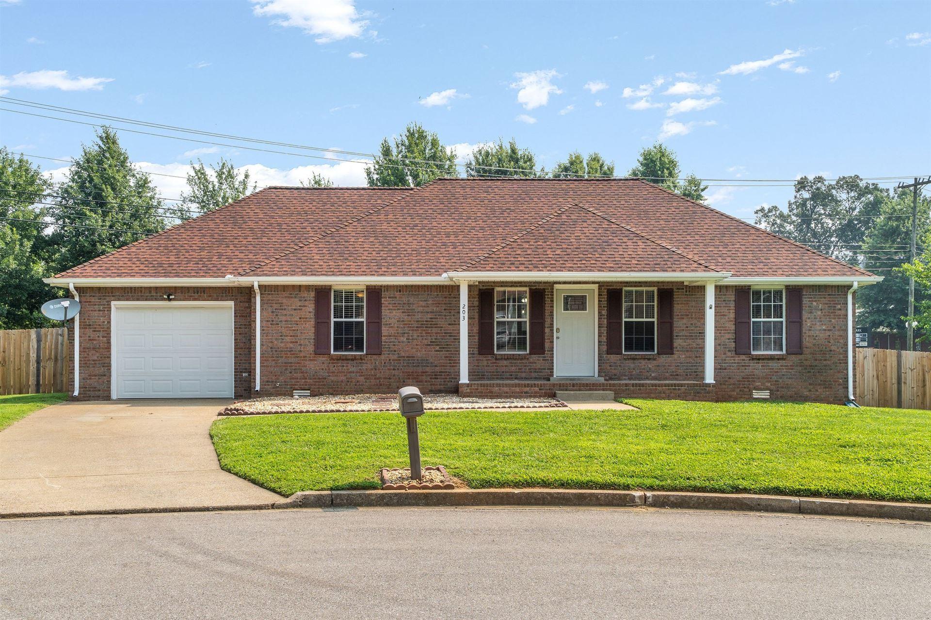 203 Bradley Court, Clarksville, TN 37043 - MLS#: 2274993