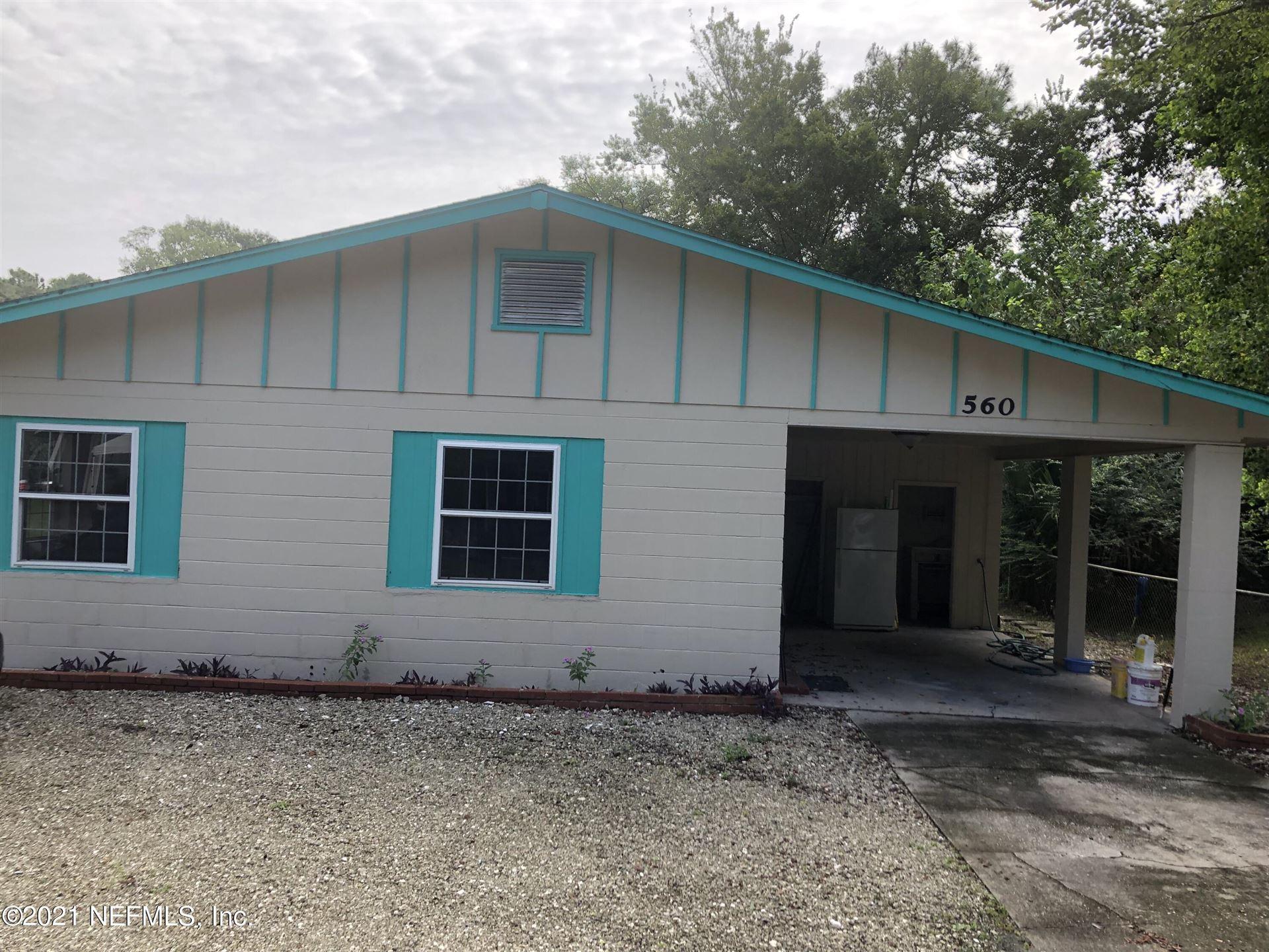 560 AIKEN ST, Saint Augustine, FL 32084 - MLS#: 1120308