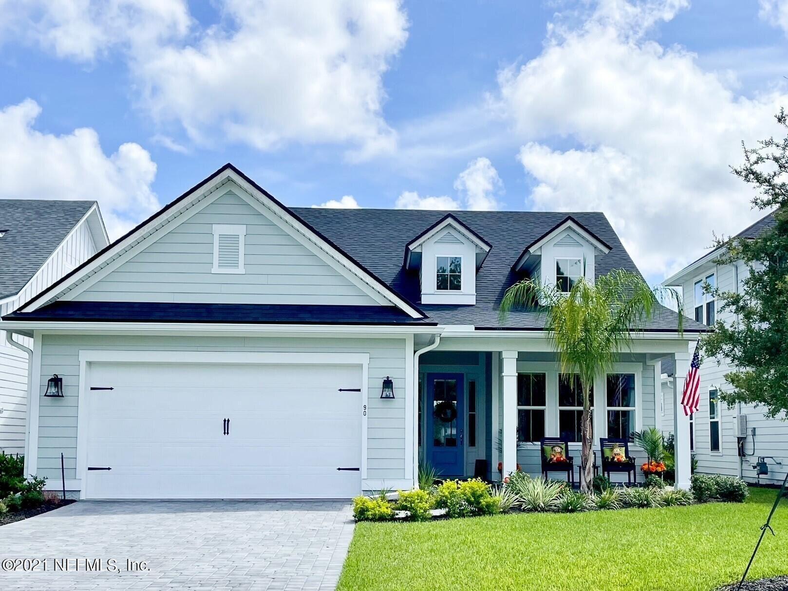 39 TARBERT LN #Lot No: 253, Saint Augustine, FL 32092 - MLS#: 1122354