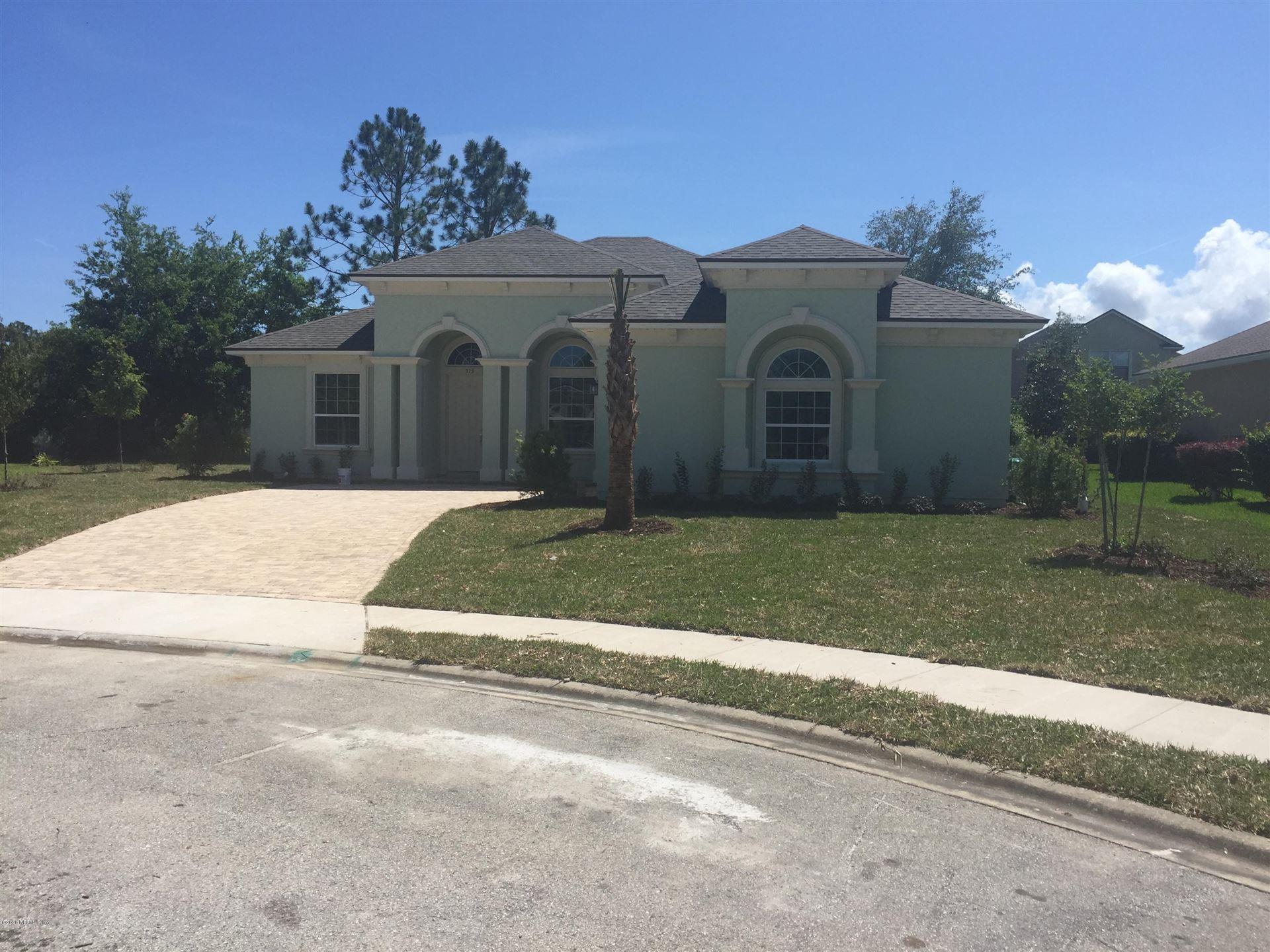 513 CALIENTE PL #Lot No: 7, Saint Augustine, FL 32086 - MLS#: 1048489