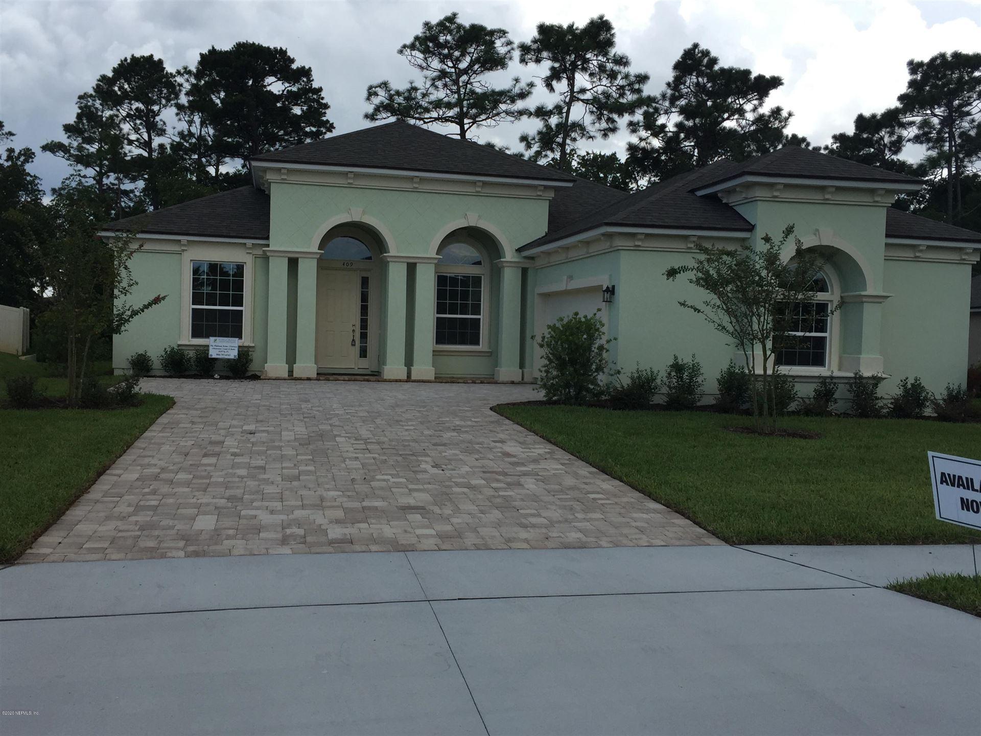409 VENECIA WAY #Lot No: 27, Saint Augustine Shores, FL 32086 - MLS#: 1068726