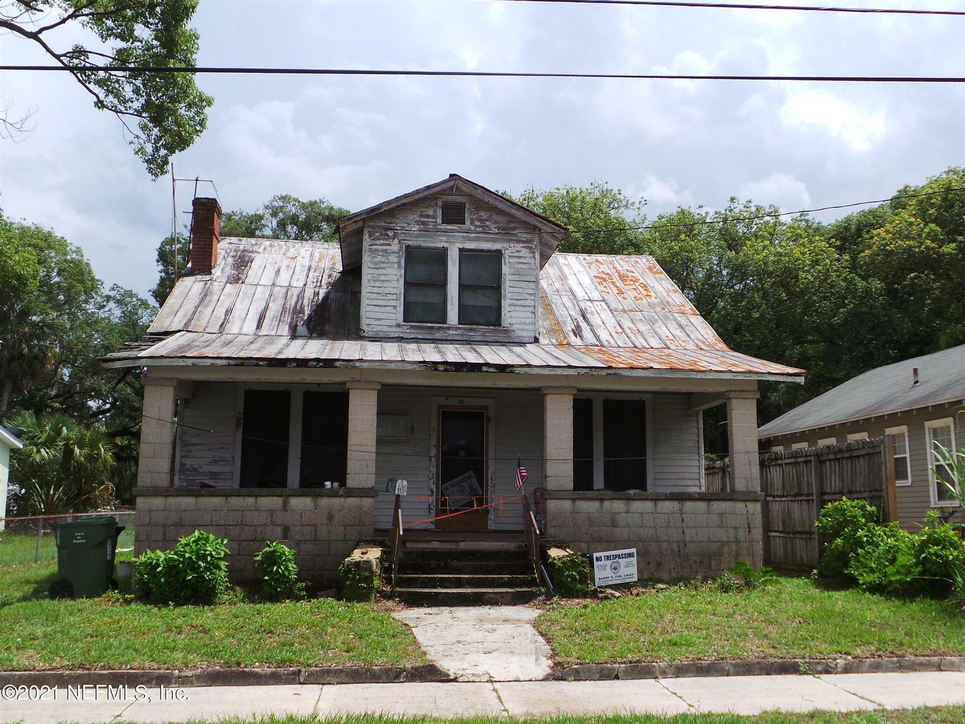 11 EVERETT ST #Lot No: 10, Saint Augustine, FL 32084 - MLS#: 1117753