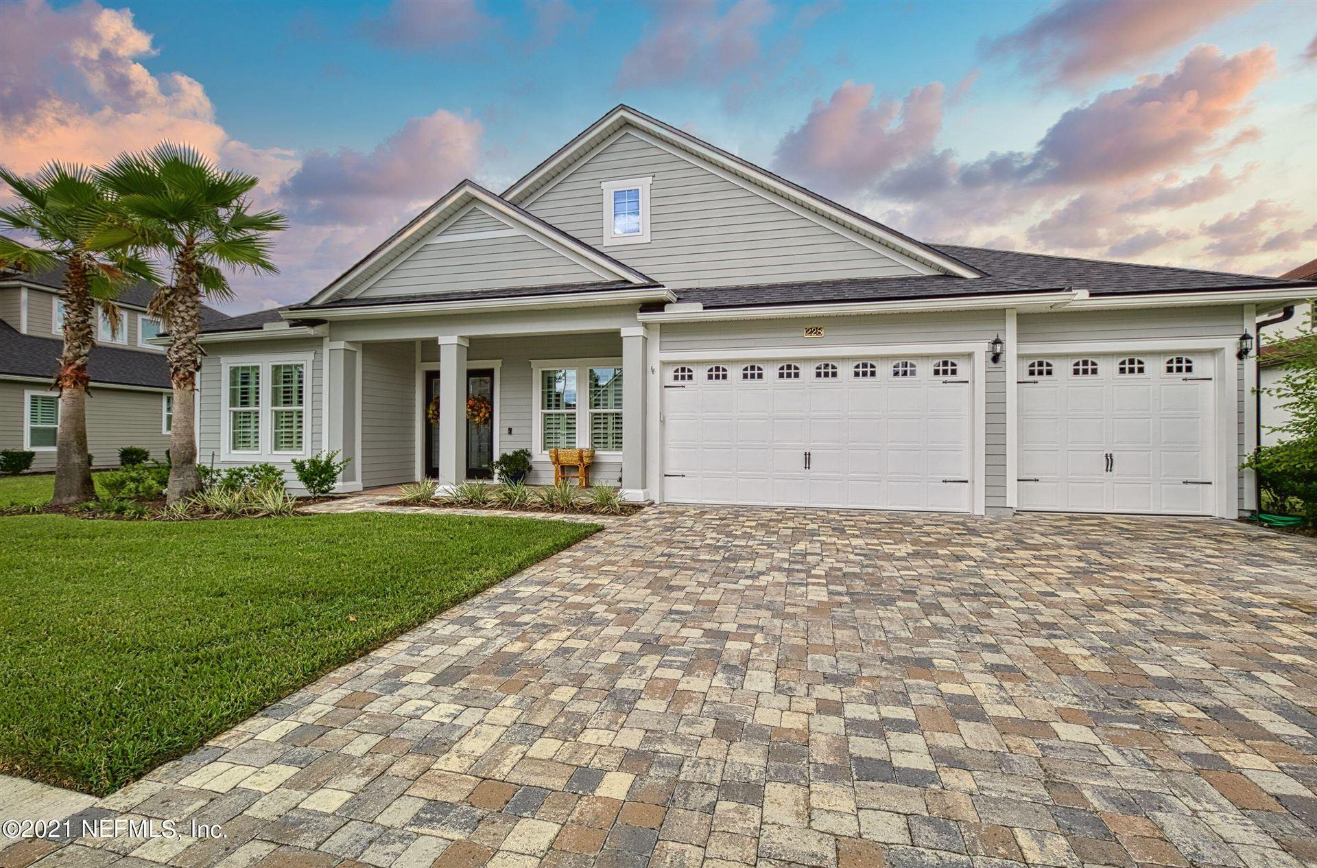 228 CONQUISTADOR RD, Fruit Cove, FL 32259 - MLS#: 1135880