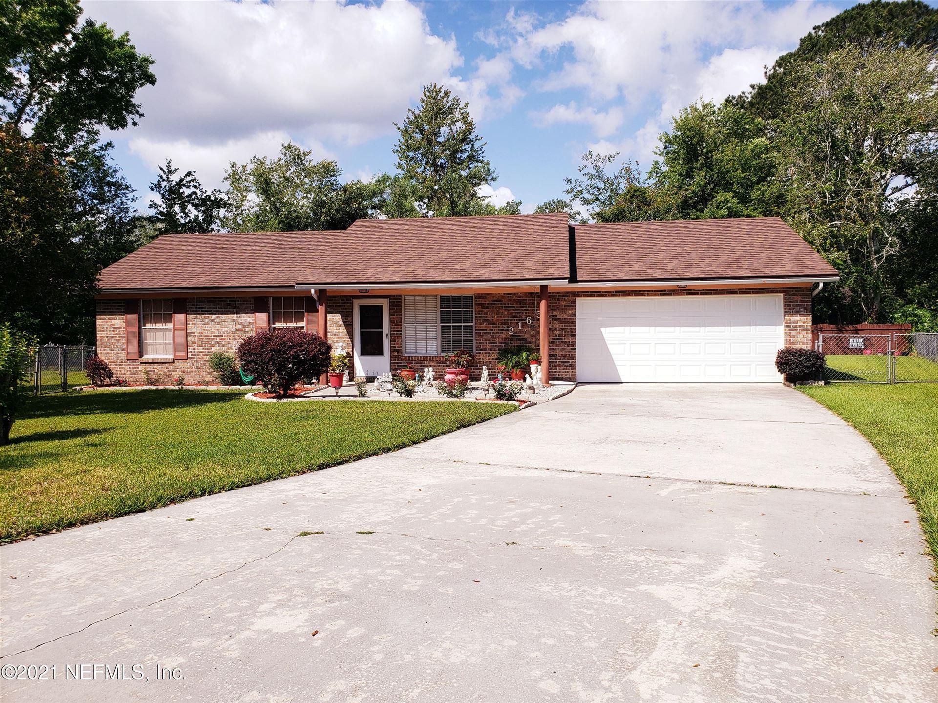 2165 AGAVE MANOR #Lot No: 25, Middleburg, FL 32068 - MLS#: 1108979