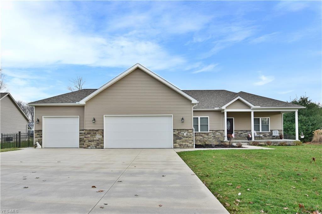 46 Spring Creek Drive, Cortland, OH 44410 - MLS#: 4160512