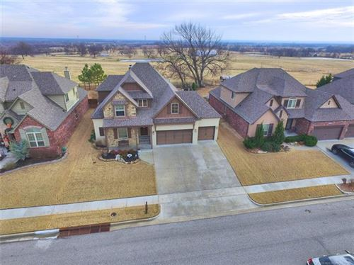 Photo of 14327 S Lakewood Avenue, Bixby, OK 74008 (MLS # 1943044)