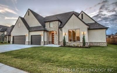 Photo of 13212 S 66th Place, Bixby, OK 74008 (MLS # 2012048)
