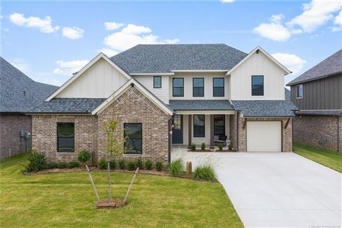 Photo of 12920 S 5th Place, Jenks, OK 74037 (MLS # 2022415)
