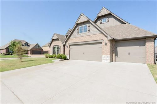 Photo of 13314 S 20th Street, Bixby, OK 74008 (MLS # 2023534)