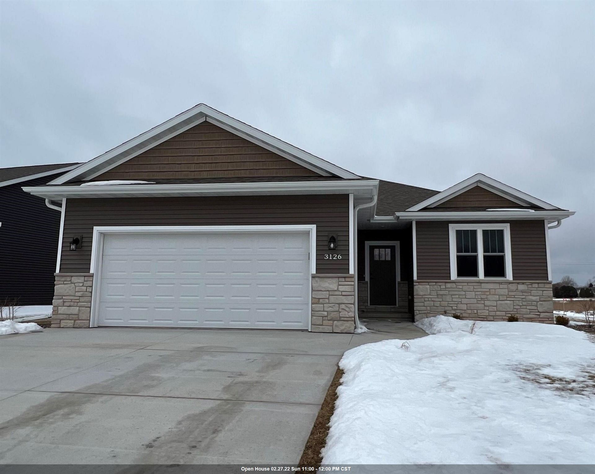 3126 LAZY OAK Court, Green Bay, WI 54313 - MLS#: 50240062