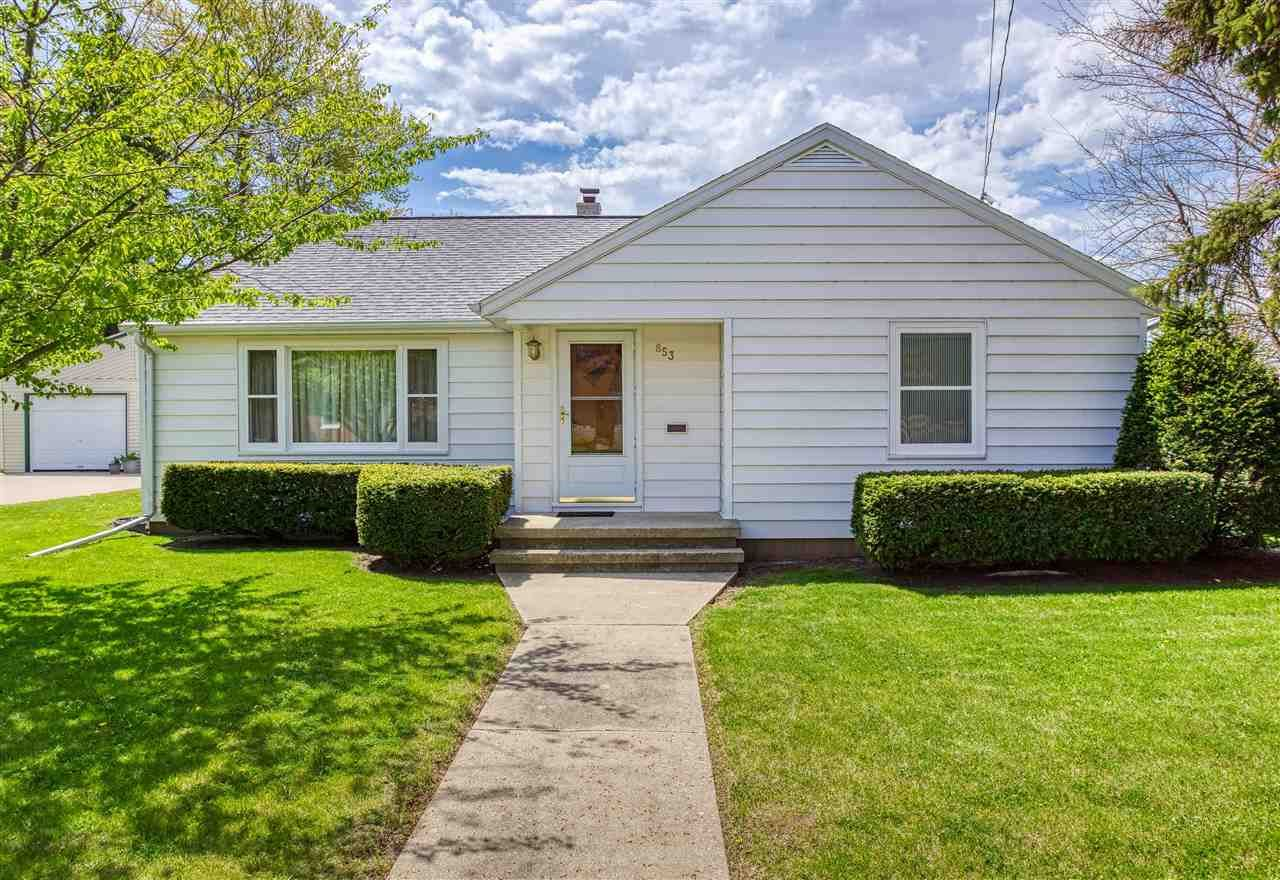853 5TH Street, Menasha, WI 54952 - MLS#: 50240328