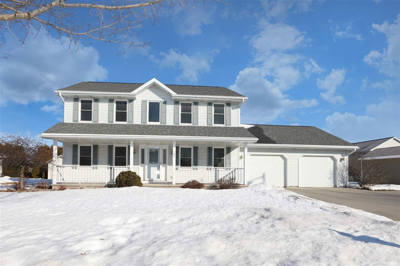 105 KAYLA Street, Combined Locks, WI 54113 - MLS#: 50235824