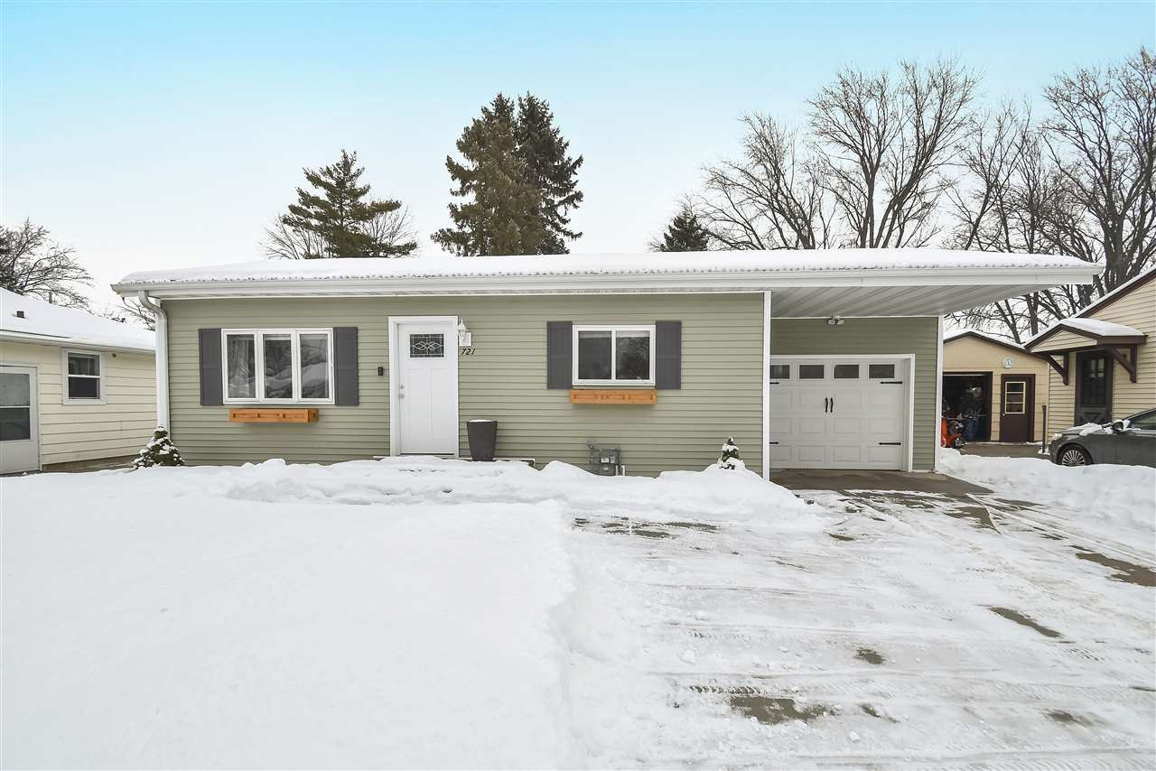 721 MITCHELL Street, Green Bay, WI 54304 - MLS#: 50235856