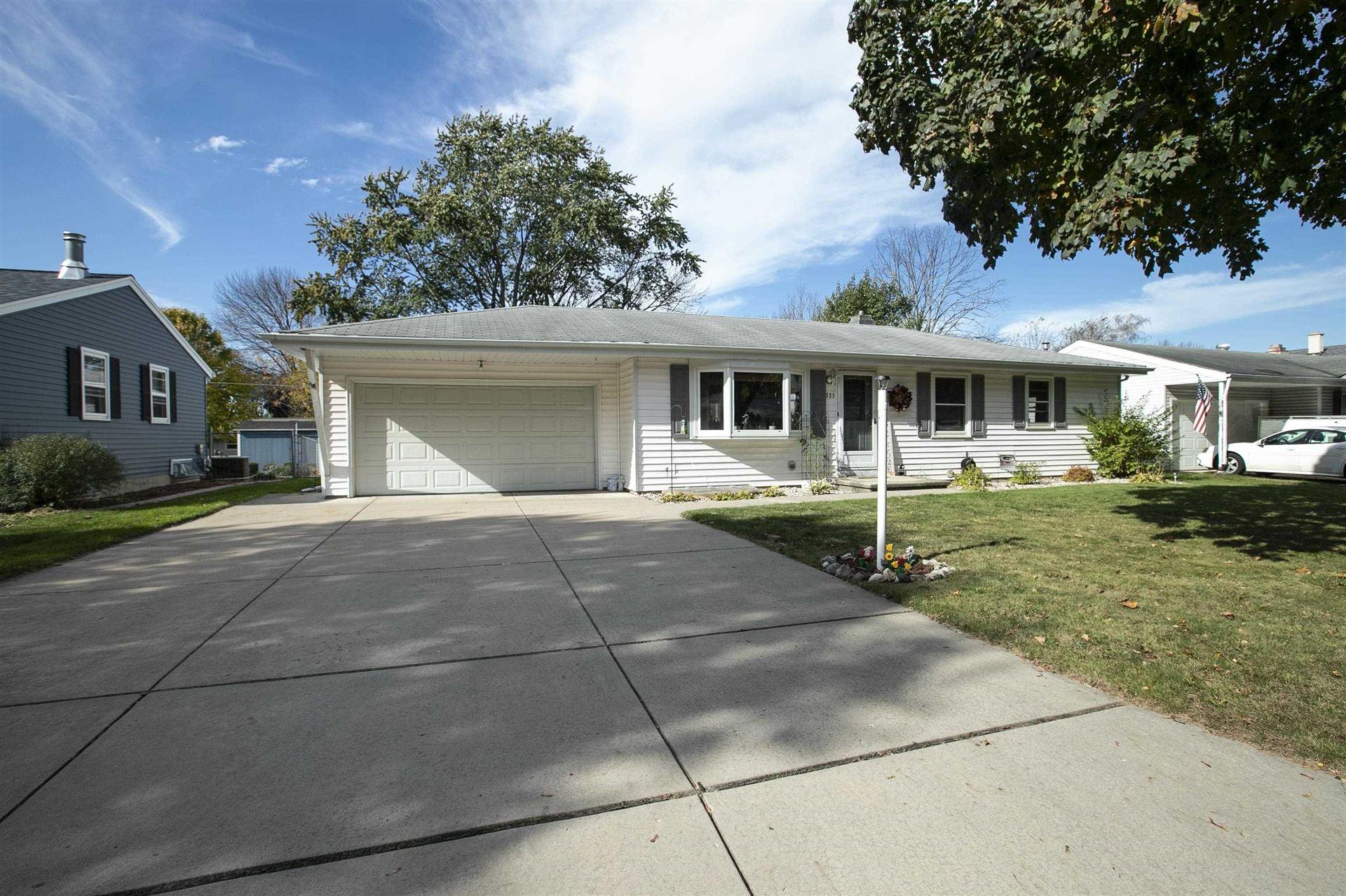 335 CONOVER Drive, Green Bay, WI 54303 - MLS#: 50249952
