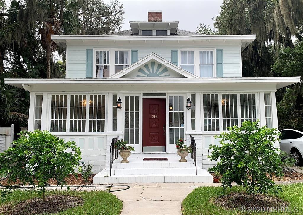 Photo of 316 Faulkner Street, New Smyrna Beach, FL 32168 (MLS # 1060119)