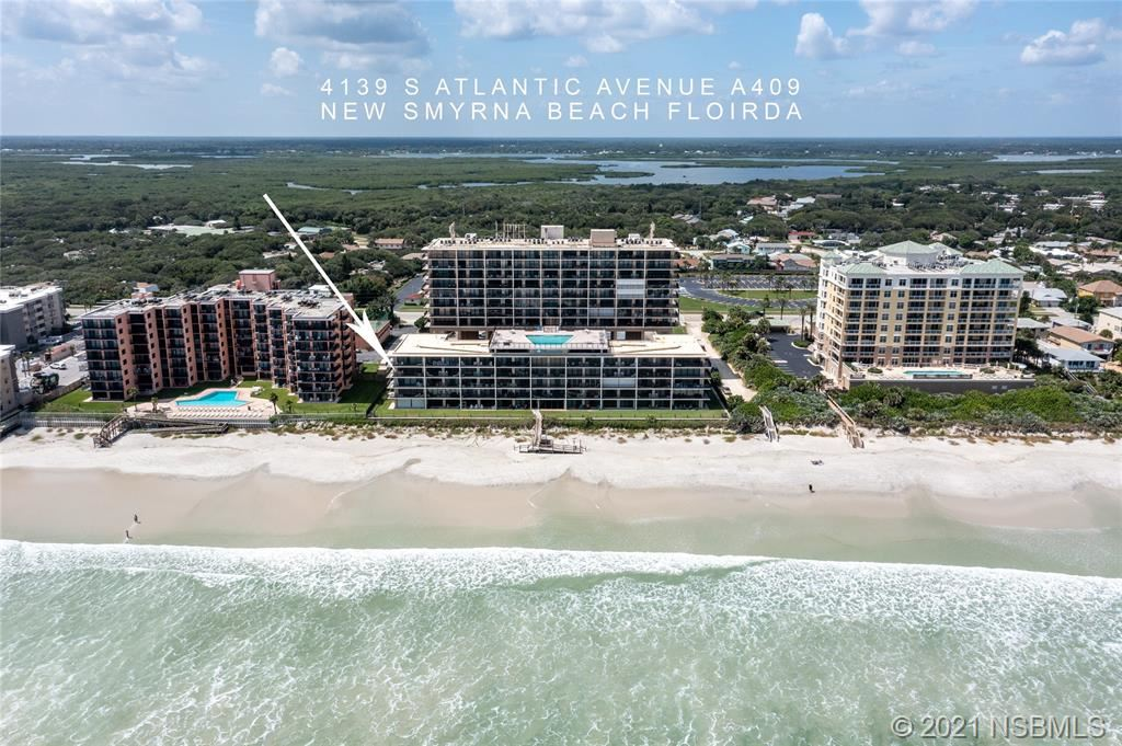 Photo of 4139 S Atlantic Avenue #A409, New Smyrna Beach, FL 32169 (MLS # 1066126)