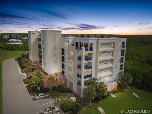 Photo of 5300 S Atlantic Avenue #19-605, New Smyrna Beach, FL 32169 (MLS # 1060128)