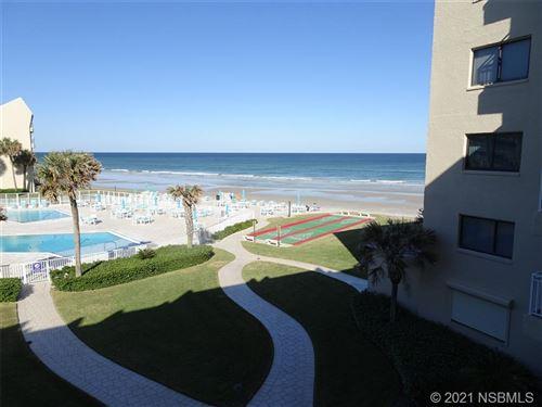 Photo of 4501 S Atlantic Avenue #303, New Smyrna Beach, FL 32169 (MLS # 1062139)