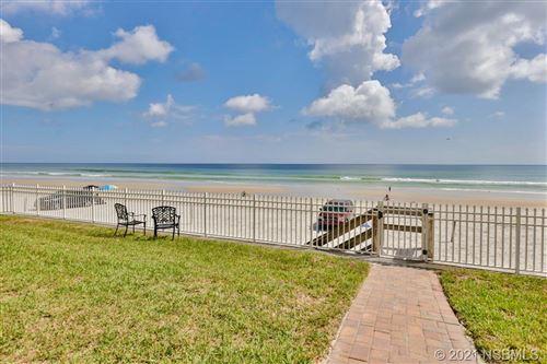 Photo of 3509 S Atlantic Avenue #108 & 109, New Smyrna Beach, FL 32169 (MLS # 1062216)