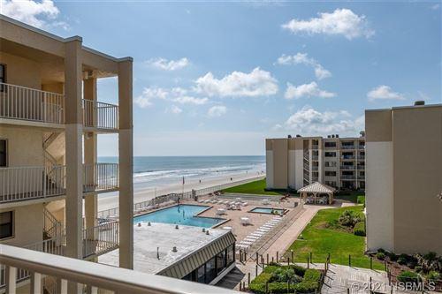 Photo of 4175 S Atlantic Avenue #405, New Smyrna Beach, FL 32169 (MLS # 1063287)