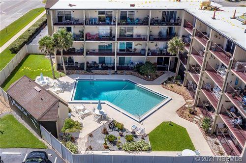 Photo of 3700 S Atlantic Avenue #208, New Smyrna Beach, FL 32169 (MLS # 1066295)