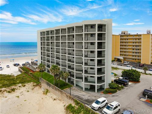 Photo of 3405 S Atlantic Avenue #201, New Smyrna Beach, FL 32169 (MLS # 1064301)