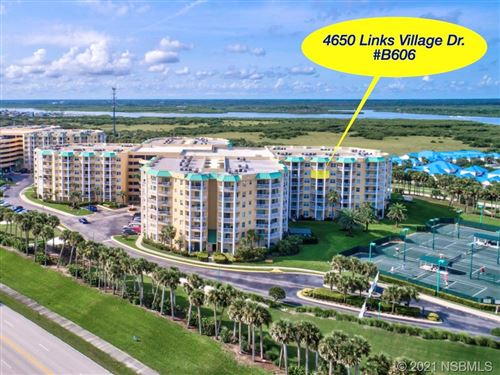 Photo of 4650 Links Village Drive #B606, Ponce Inlet, FL 32127 (MLS # 1063325)