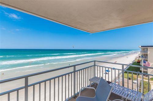 Photo of 4151 S Atlantic Avenue #506, New Smyrna Beach, FL 32169 (MLS # 1058369)