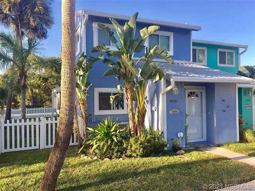 Photo of 4001 Saxon Drive, New Smyrna Beach, FL 32169 (MLS # 1063387)
