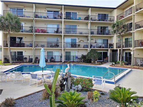 Photo of 3700 S Atlantic Avenue #213, New Smyrna Beach, FL 32169 (MLS # 1063413)