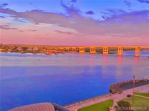 Photo of 101 N Riverside Drive #708, New Smyrna Beach, FL 32168 (MLS # 1066441)