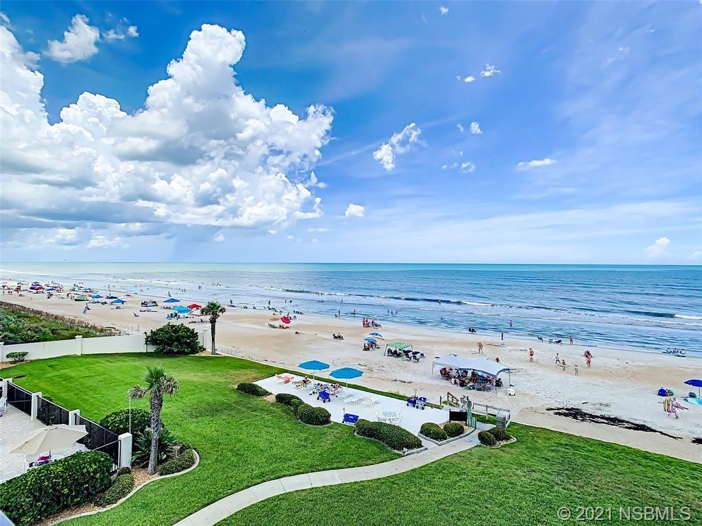 Photo of 5499 S Atlantic Avenue #405, New Smyrna Beach, FL 32169 (MLS # 1064470)