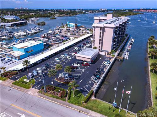 Photo of 101 N Riverside Drive #805, New Smyrna Beach, FL 32168 (MLS # 1063557)