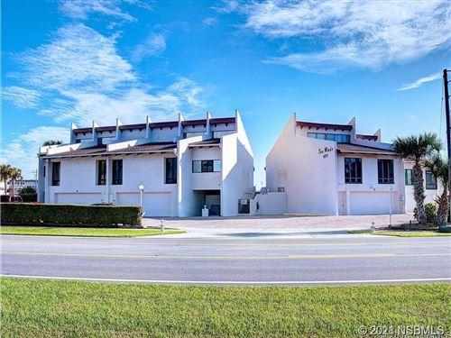 Photo of 4875 S Atlantic Avenue #D, New Smyrna Beach, FL 32169 (MLS # 1066568)
