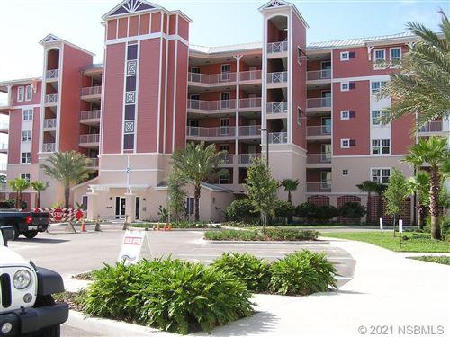 Photo of 2 N Riverwalk Drive #2-202, New Smyrna Beach, FL 32169 (MLS # 1063611)