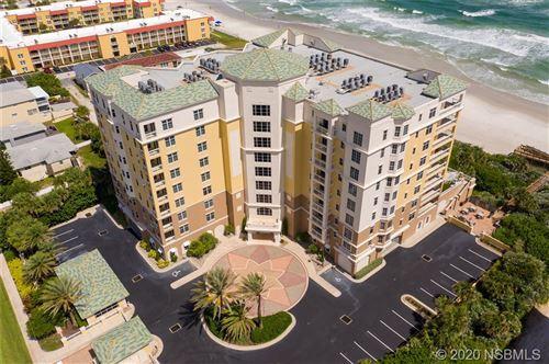 Photo of 4071 S Atlantic Avenue #202, New Smyrna Beach, FL 32169 (MLS # 1060645)