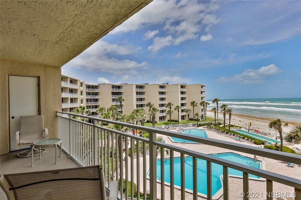 Photo of 2401 S Atlantic Avenue #C404, New Smyrna Beach, FL 32169 (MLS # 1063789)