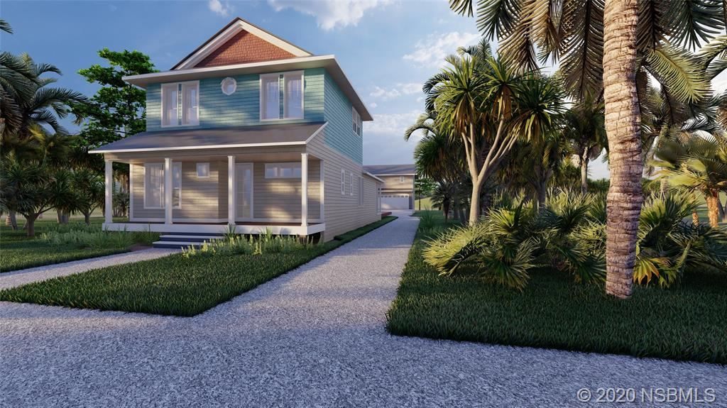 Photo of 2706 S Atlantic Avenue, New Smyrna Beach, FL 32169 (MLS # 1060814)