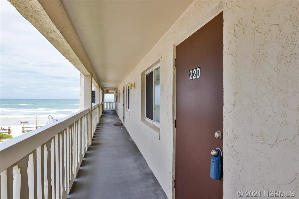 Photo of 3663 S Atlantic Avenue #22D, New Smyrna Beach, FL 32169 (MLS # 1063898)