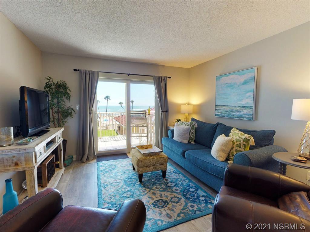 Photo of 4155 S Atlantic Avenue S #208, New Smyrna Beach, FL 32169 (MLS # 1063900)