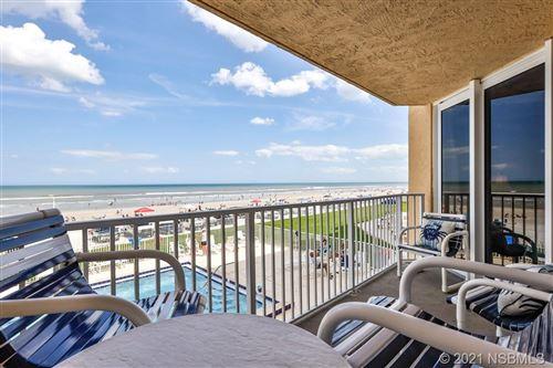 Photo of 421 S Atlantic Avenue #205, New Smyrna Beach, FL 32169 (MLS # 1062923)